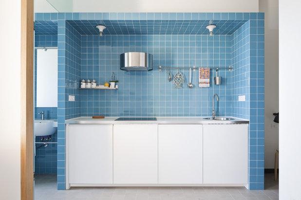 Coastal Kitchen by Marazzi Ceramiche