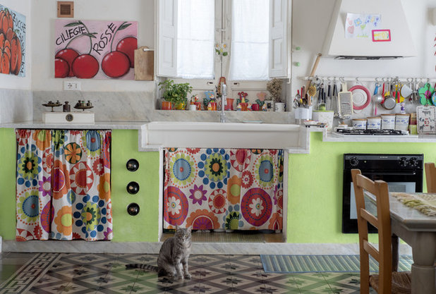 My Houzz: Colori Mediterranei nell\'Allegra Casa Siciliana Anni 20