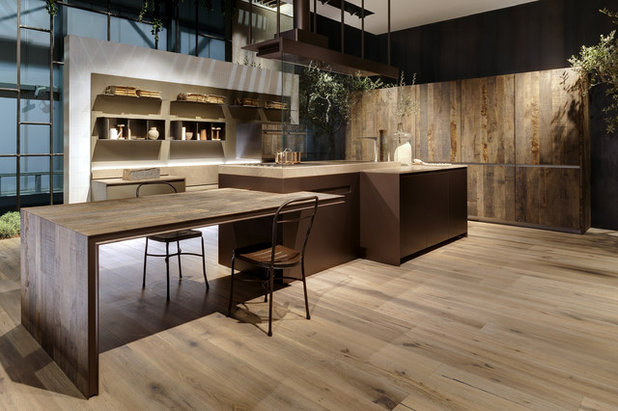 Industrial Kitchen Icon by Ernestomeda - EuroCucina 2016