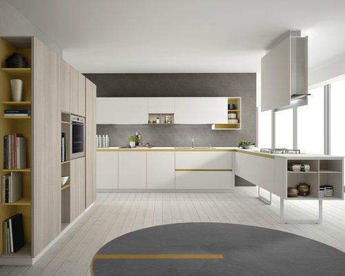 Cucina ad ambiente unico - Foto e Idee per Arredare