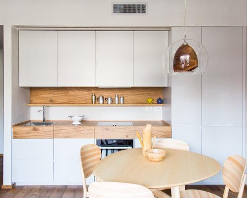 Cucina lineare moderna - Foto e Idee per Ristrutturare e Arredare