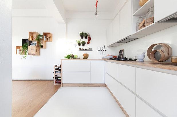 Cucine Rovere Sbiancato Moderne