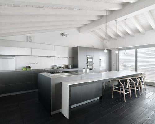Best expansive kitchen with stainless steel worktops for Boro kitchen cabinets inc