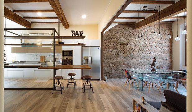 Moderno Cucina by COBE Architetti