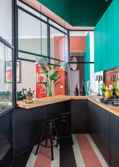 コンテンポラリー キッチン by Betti Sperandeo Architetto