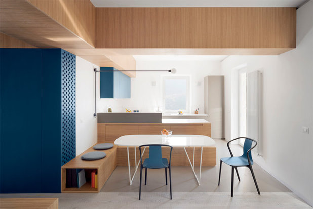 Moderno Cucina by gosplan architects