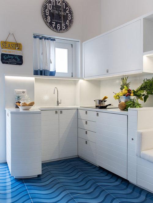 Cucina al mare foto e idee per ristrutturare e arredare - Cucina al mare ...
