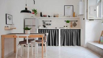 La cucina [S.Eframo lovely house bnb]