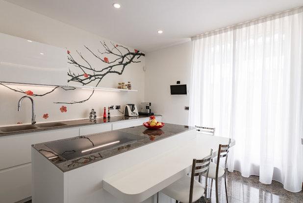 Contemporaneo Cucina by Annalisa Carli Architetto
