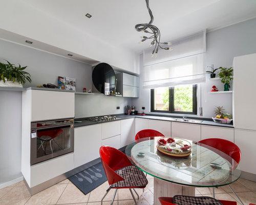 Cucina con ante in legno chiaro - Foto e Idee per Ristrutturare e ...