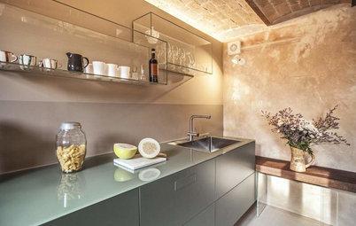 Guida Houzz: Illuminare la Cucina Elemento per Elemento