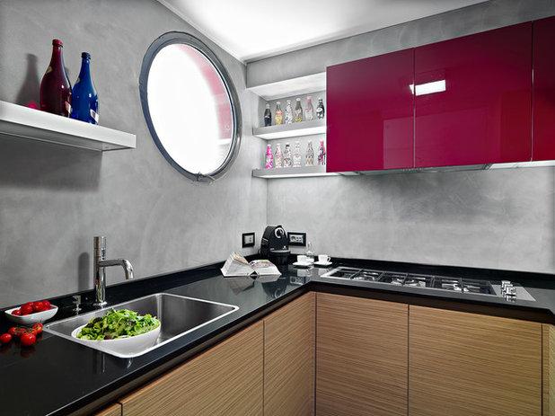 Contemporaneo Cucina by D3 architetti associati