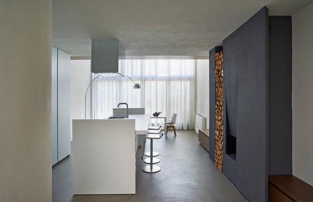 Contemporaneo Cucina by Victor Vasilev Architect