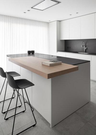 Современный Кухня by Andrea Nalesso Architetto