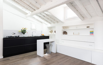Houzz Tour: A Tiny Studio is Transformed into a Home for Four