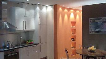 Mini appartamento colorato