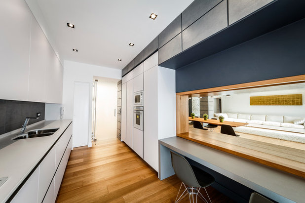 Contemporary Kitchen by Brain Factory - Architecture & Design