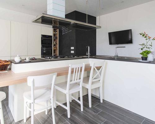 Cucina con pavimento in laminato foto e idee per arredare - Pavimento per cucina ...