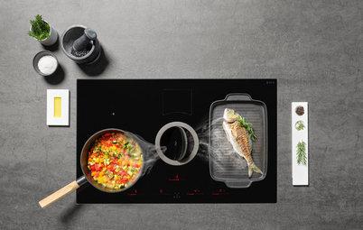 Du nouveau dans la cuisine : découvrez la plaque à induction aspirante