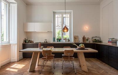 Casas Houzz: Un piso cálido y sofisticado en Milán