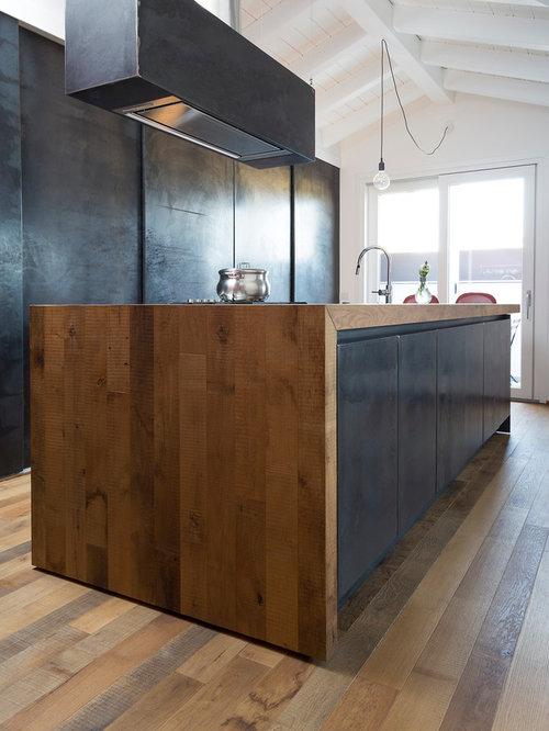 Cucina con top in legno - Foto e Idee per Ristrutturare e Arredare