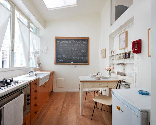 Cucina classica con ante in legno scuro - Foto e Idee per ...