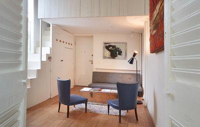 Un Mini di 30 m² Moltiplica lo Spazio Grazie al Soppalco