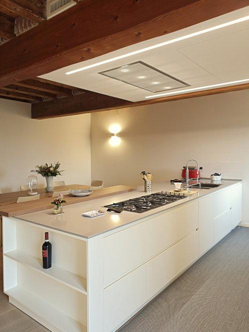 Cucina con pavimento in laminato - Foto e Idee per Ristrutturare e ...