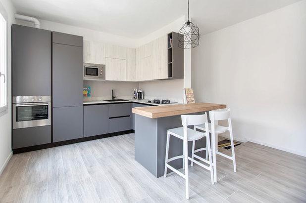 Contemporaneo Cucina by HV8 architettura