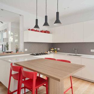 Immagine di una cucina scandinava