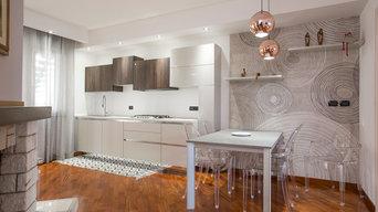 Progetto relooking soggiorno e cucina-Iglesias