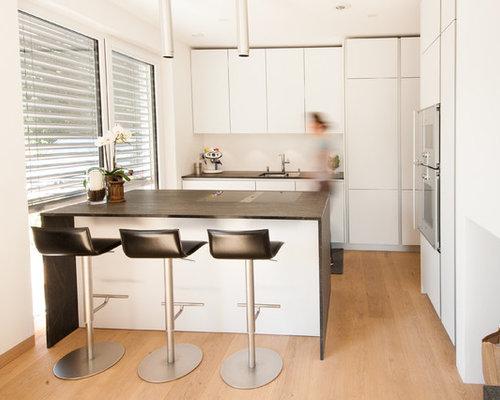 Best Cucina Bianca E Rovere Contemporary - Home Interior Ideas ...