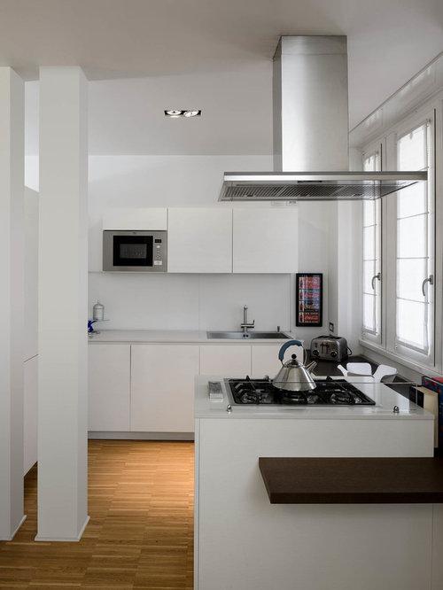 Cucina con top in quarzite - Foto e Idee per Ristrutturare e Arredare