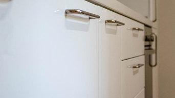 Rinnovo della cucina in laccato