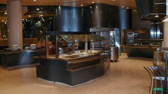 ristorante self-service Conde' Nast NY - USA