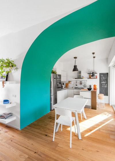 Современный Кухня by CLACstudio | Caterina Esposito | Claudio Lopez