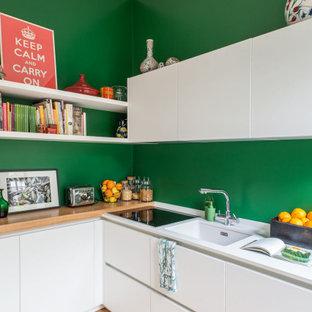 Ispirazione per una cucina scandinava