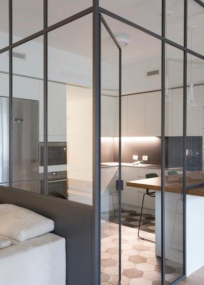 Contemporaneo Cucina by T+T Architettura