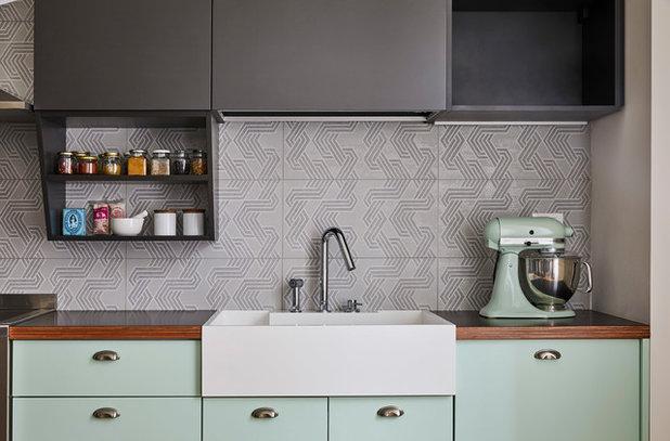 Come pulire bene le fughe delle piastrelle della cucina