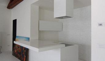Una cucina di design a Venezia