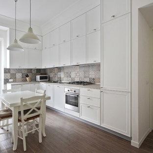 Cucina classica con pavimento in gres porcellanato - Foto e Idee per ...