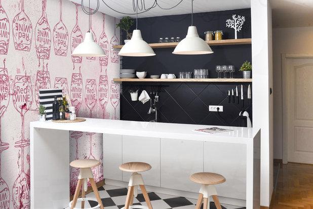 Moderno Cucina by WALL LCA - carta da parati e design