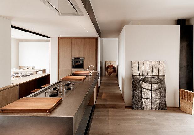 10 Cucine in Legno e Acciaio che Vorrai a Casa Tua