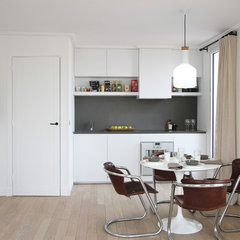 contemporary kitchen by a+b kasha designs