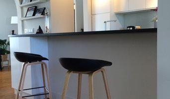 Aménagement d'un salon, séjour et cuisine