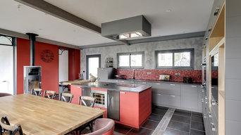 Aménagement décoration d'une extension dans une maison individuelle à Vittel
