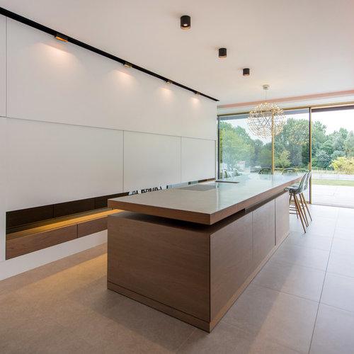 cuisine parall le moderne photos et id es d co de cuisines. Black Bedroom Furniture Sets. Home Design Ideas