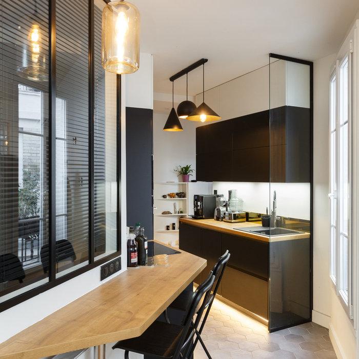 Avant/Après : métamorphose d'un 40 m²  parisien avec toit-terrasse