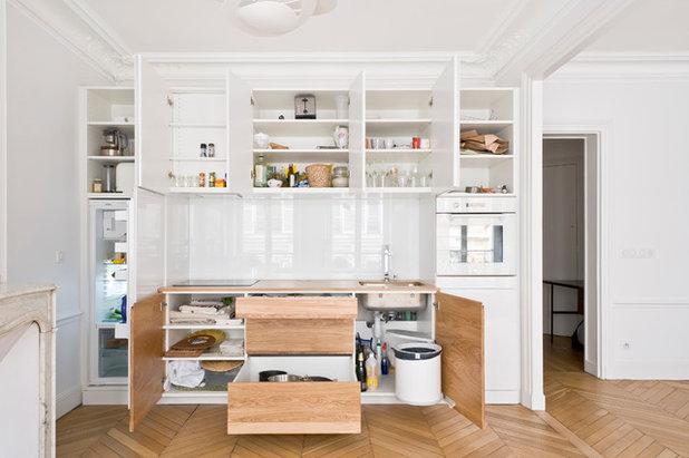 trend mini k che die besten tipps zum einrichten kleiner. Black Bedroom Furniture Sets. Home Design Ideas