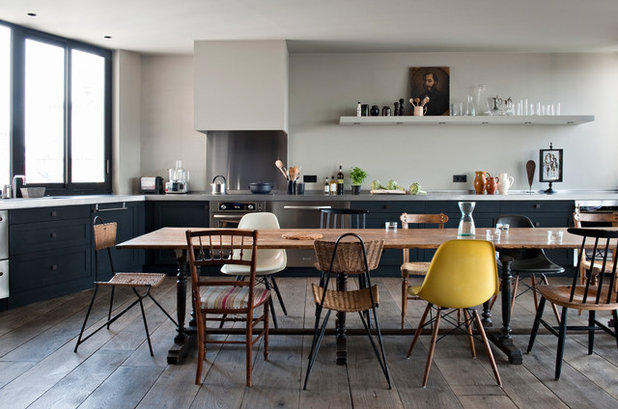 Industriel Cuisine by Antonio Virga Architecte